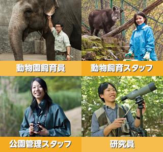 動物や自然に囲まれて仕事がしたい